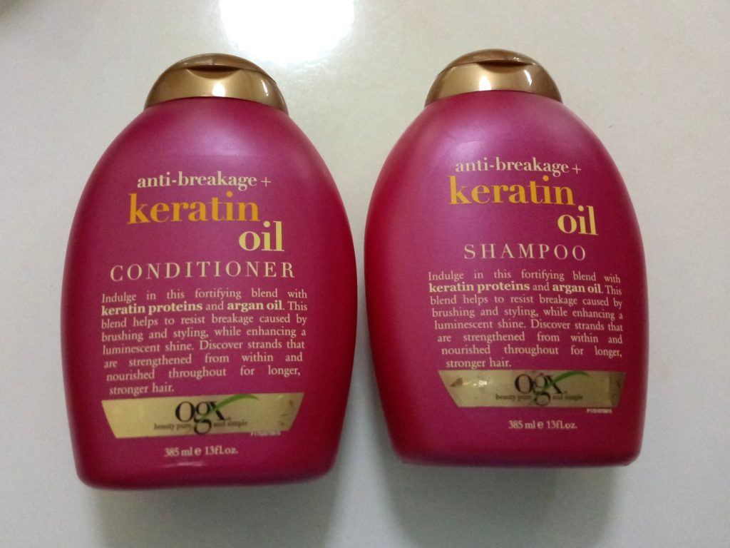 Organix Keratin Yağı Şampuanı