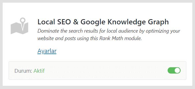 Rank Math SEO - Local SEO